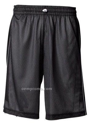 "N5262 Reversible Dazzle-mesh Adult Basketball Shorts 11"""