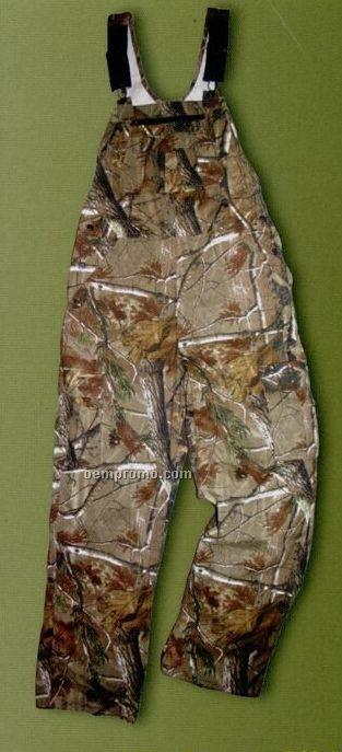 Nwtf Non Insulated Bib Overalls - Realtree Brown Camouflage