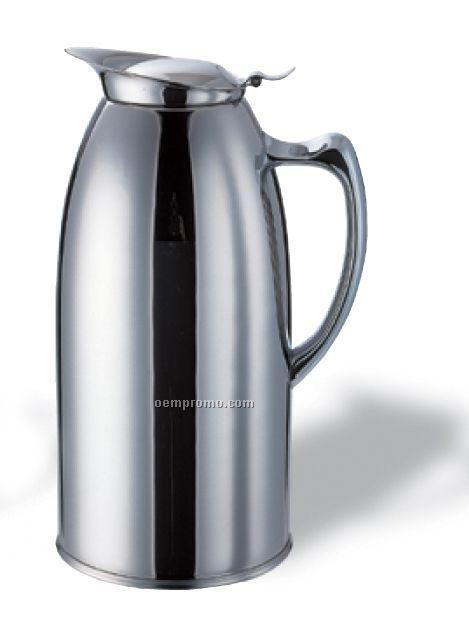 1 Liter Stainless Steel Water Pitcher (Satin)