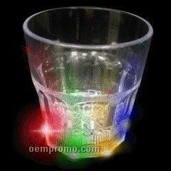 8 Oz. Light Up Whiskey Glass With Multi LED