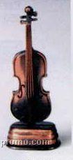 Bronze Metal Pencil Sharpener - Viola