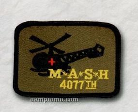 """Custom Embroidered Patches - 3"""" (50% Embroidered)"""