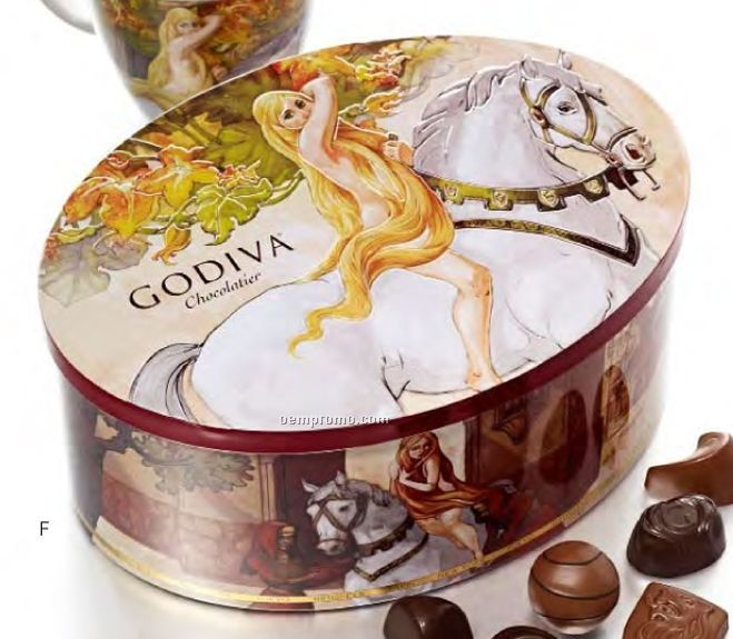 Lady Godiva Limited Edition Mug W/ Hot Cocoa