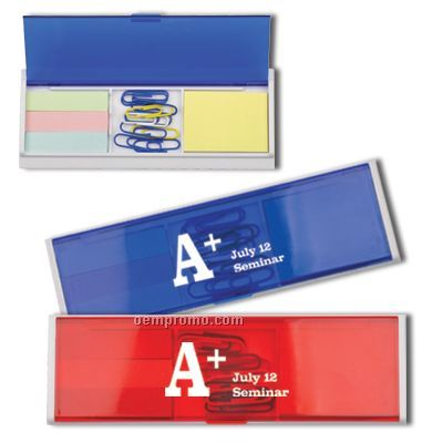 Multi-functional Sticky Holder Blue/Red