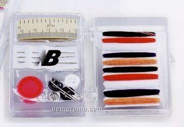 Premium Sewing Kit In Plastic Re-closable Case