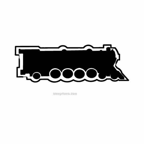 Stock Shape Train Engine Recycled Magnet