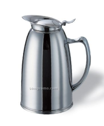 1 Liter Stainless Steel Water Pitcher (Polished)