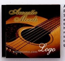 Acoustic Moods Music CD