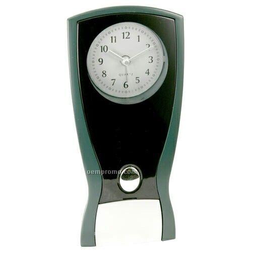 Nightstand Alarm Clock With Emergency Flashlight
