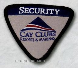 """Custom Embroidered Patches - 4"""" (50% Embroidered)"""
