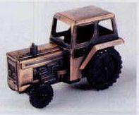 Bronze Metal Pencil Sharpener - Tractor
