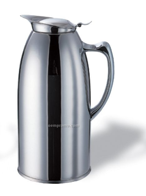 2 Liter Stainless Steel Pitcher With Handle (Satin)