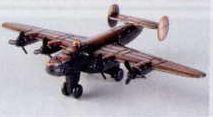 Military Bronze Metal Pencil Sharpener - B-24 Bomber