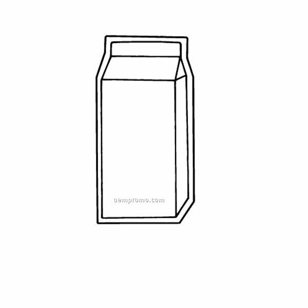 Stock Shape Milk Container Recycled Magnet