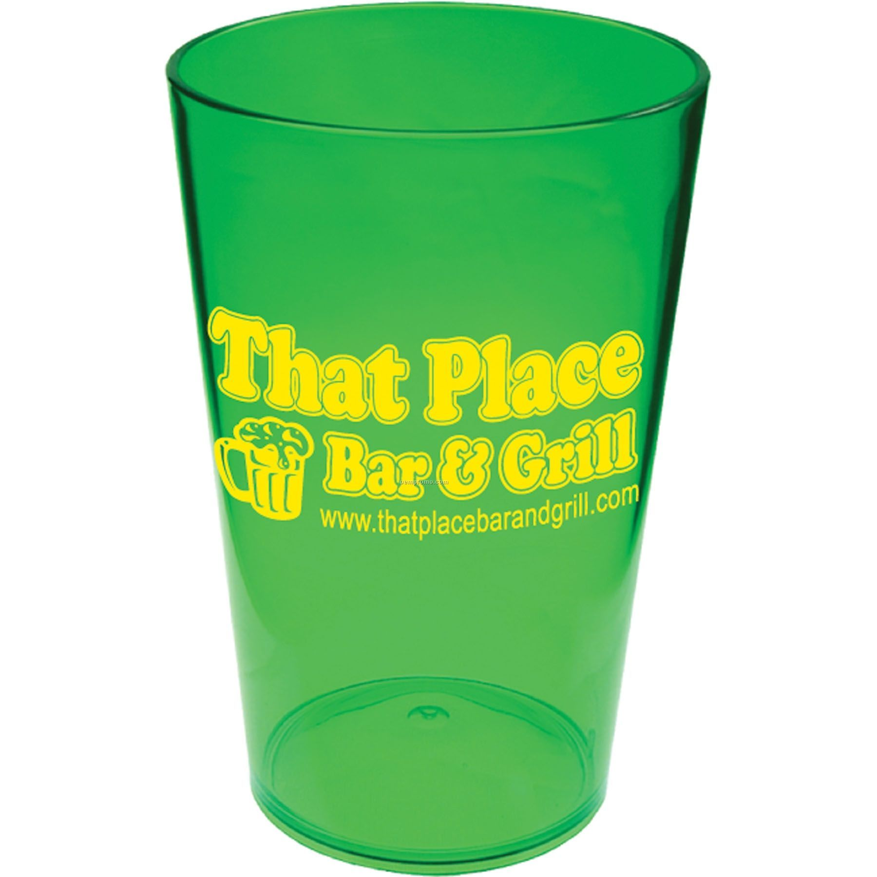 16 Oz. Styrene Pint Glass