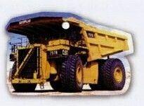 Econo Dump Truck Hanging Air Freshener