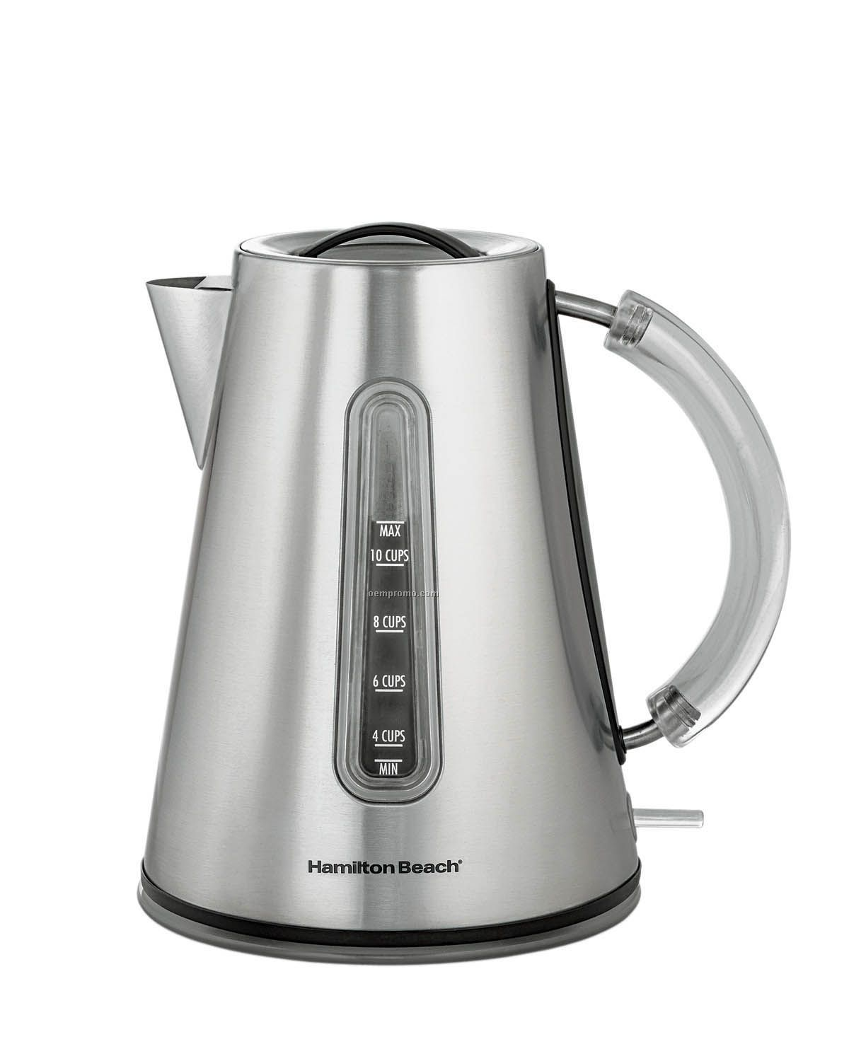 Stainless Steel Kettle ~ Hamilton beach cup stainless steel kettle china