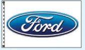Standard Single Face Dealer Logo Spacewalker Flag (Ford)