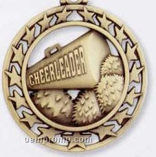 Star Border Medallions - Cheerleader Gold