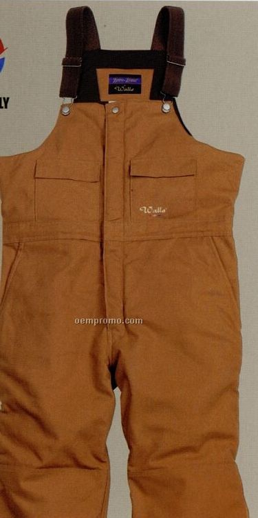 Walls Mid Weight Duck Insulated Bib Overalls