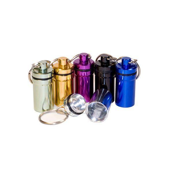 Medicine Bottle Keychain