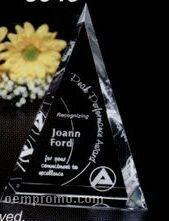 "Pristine Gallery Crystal Palisade Award (6"")"