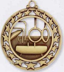 Star Border Medallions - Gymnastics