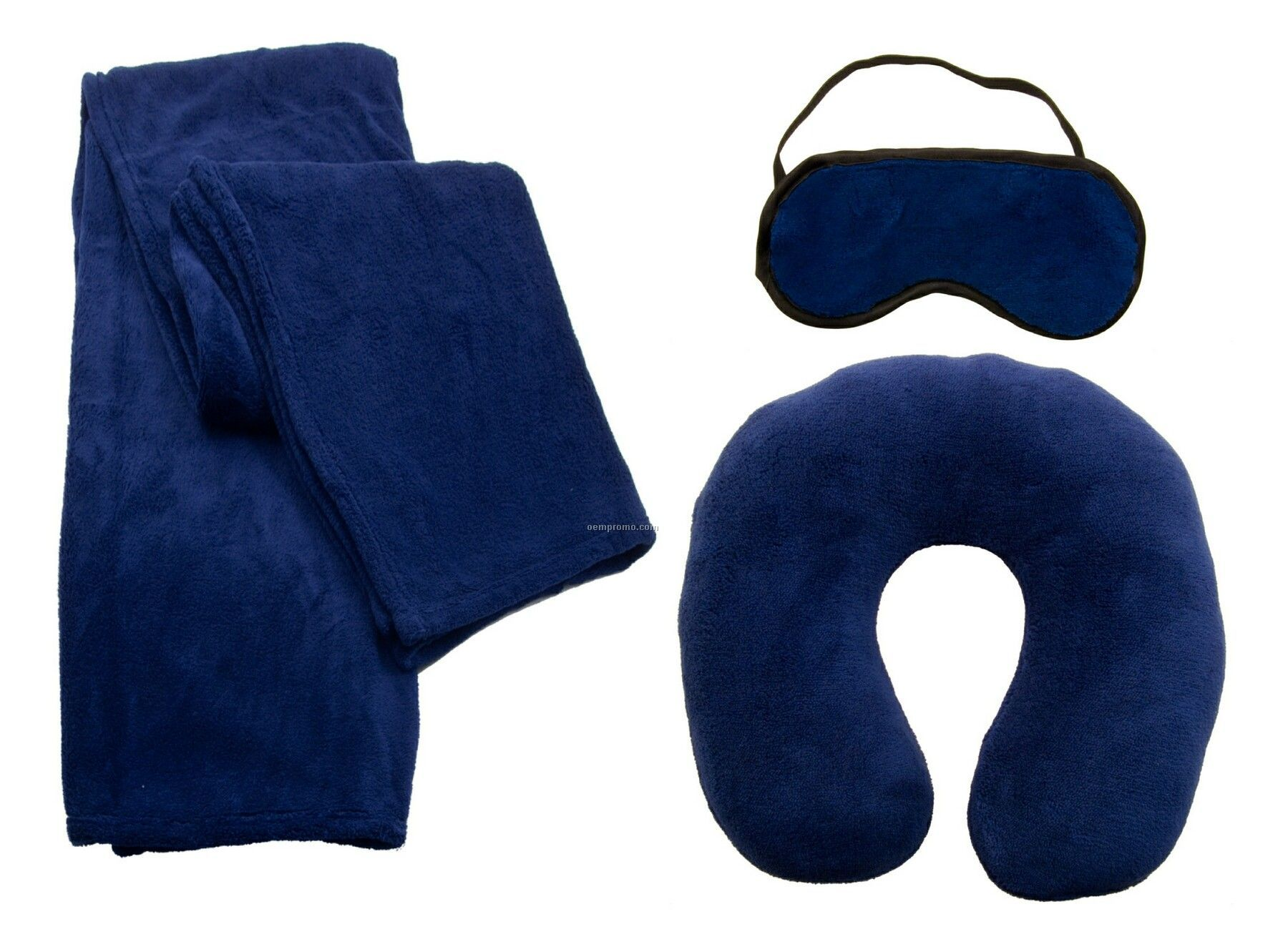 Travel Set W Blanket Pillow Mask Overseas 6 7 Week