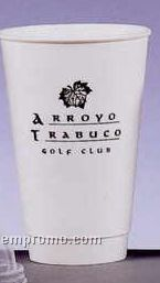 16 Oz. Triple Wall Insulated Hot Paper Cup/1 Side Imprint