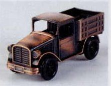 Early American Bronze Metal Pencil Sharpener - Delivery Truck