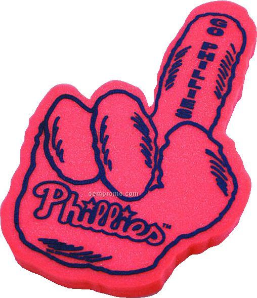 Foam Monster Hand Cheering Mitt