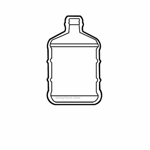 Stock Shape Water Bottle Recycled Magnet