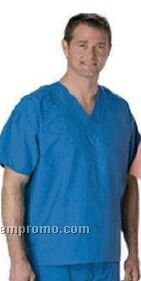 Unisex Short Sleeve Scrub Shirt (S-xl)