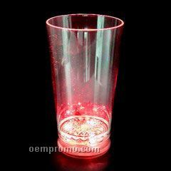 16 Oz. Red LED Pint Light Up Glass