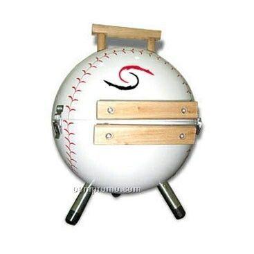 Baseball Charcoal Grill