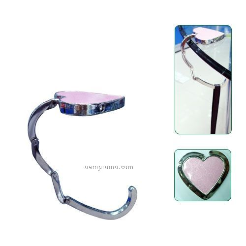 Folding Purse Hanger And Foldable Bag Hook