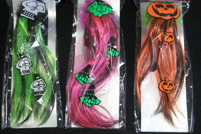 Halloween Icons Hair Big Clip