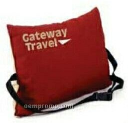 Head & Lumbar Pillow Cushion With Strap