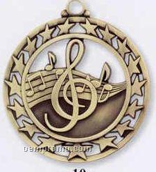 Star Border Medallions - Music