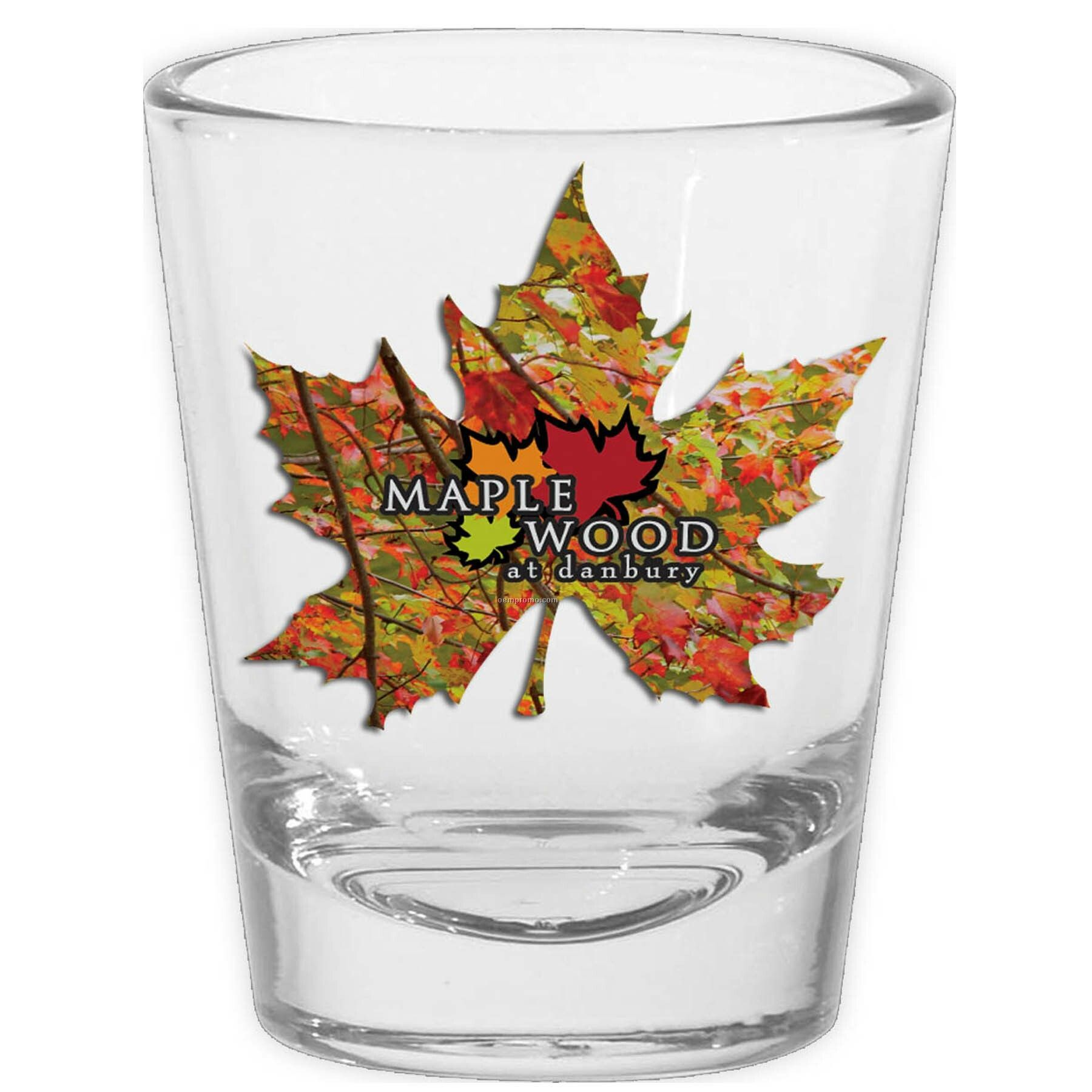 1.75 Oz. Sublimated Shot Glass