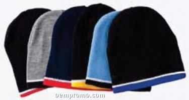 2 Tone Winter Knit Hat