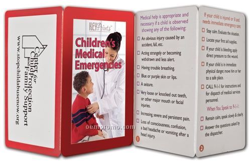 Children's Medical Emergencies Key Point Brochure
