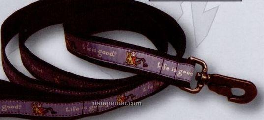 "Designer Medium Mutt Dog Leash (3/4"" Wide)"