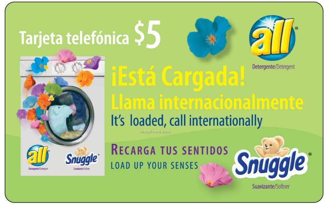 15 / 30 Minute Latin America / Us Phone Card Or Key Tag