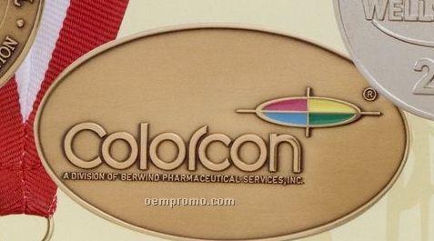 """Die Struck 8 Gauge Solid Bronze Coin / Medallion (2"""")"""