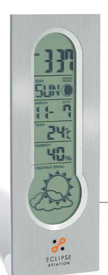 Digital Clock And Weather Station