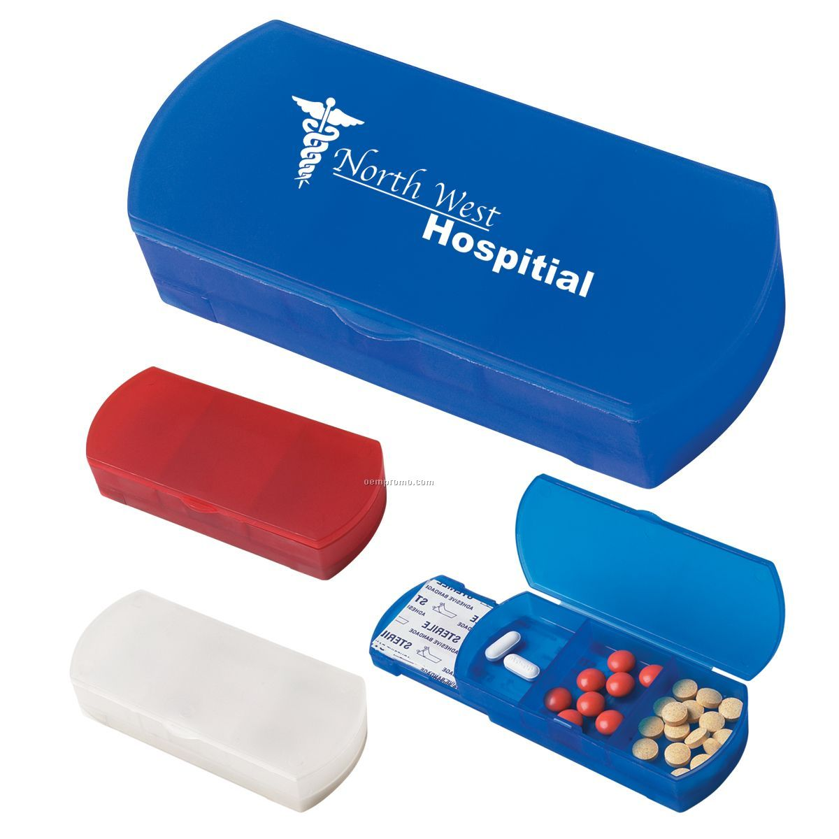 Pill Box/ Bandage Dispenser