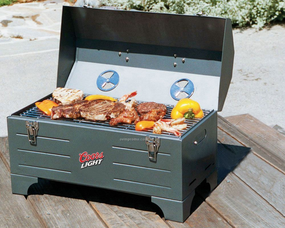 Tool Box Charcoal Grill