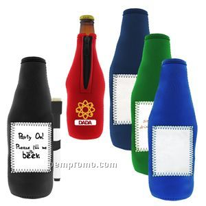 Whiteboard Stubby Bottle Cooler - 15 Day Service