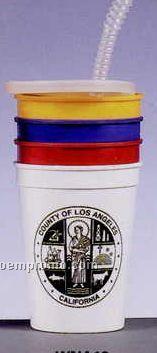 12 Oz. Souvenir Stadium Cup/Colors Plastic